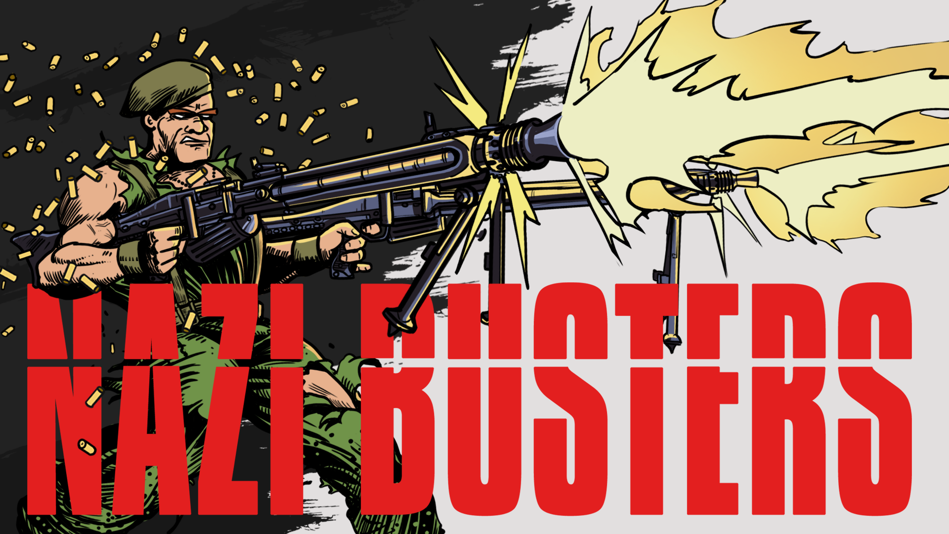 Nazi Busters cover Iron Wolf Studio